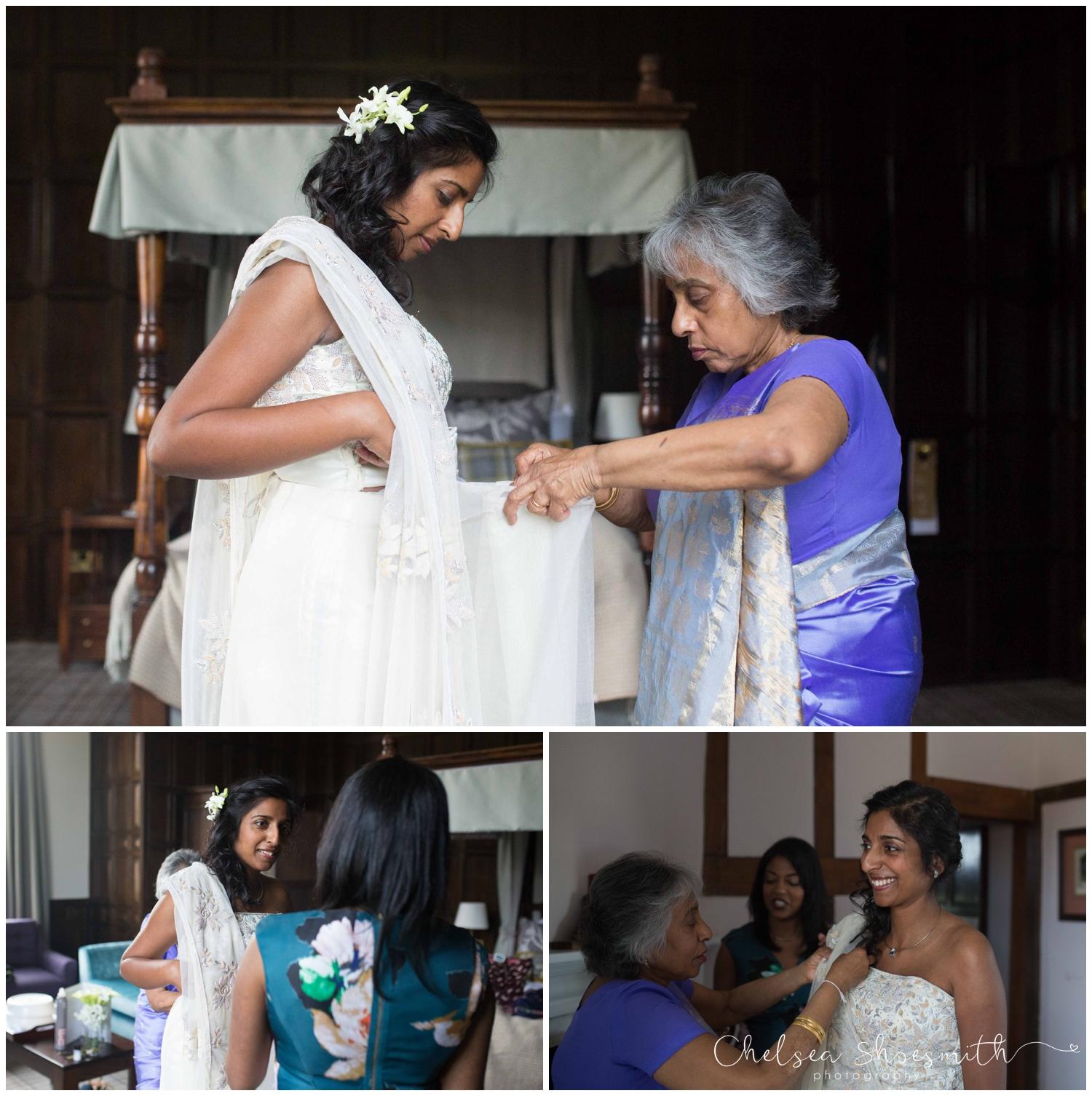 (46 of 516) Anil & Aloka Wedding Photography Stratford Warwickshire Billesley Manor Chelsea Shoesmith Photography_
