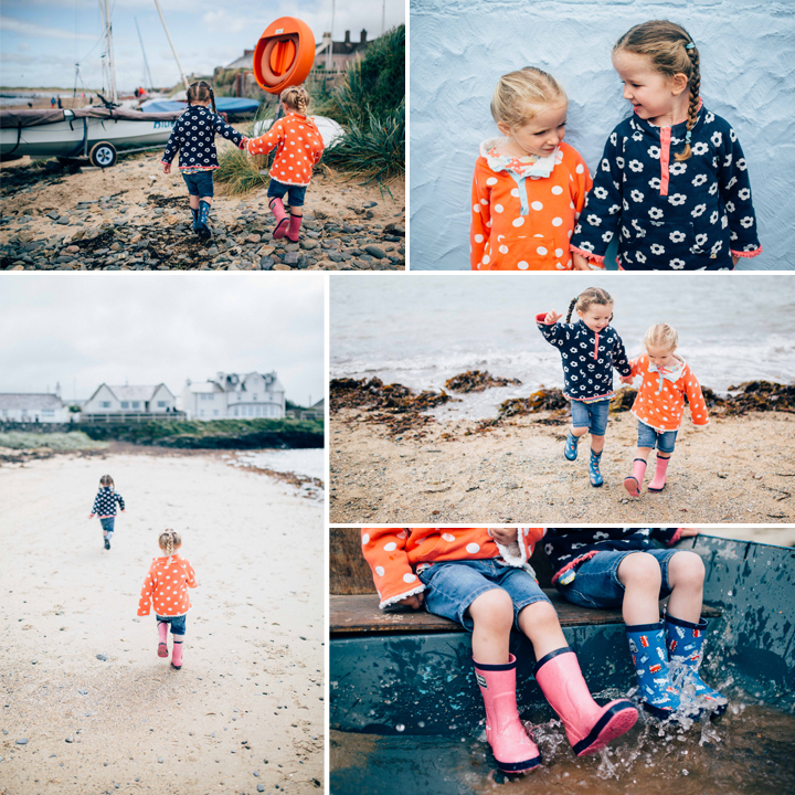 Charlotte & Sophie Seaside Portrait Shoot - Rhosneigr Beach, Anglesey