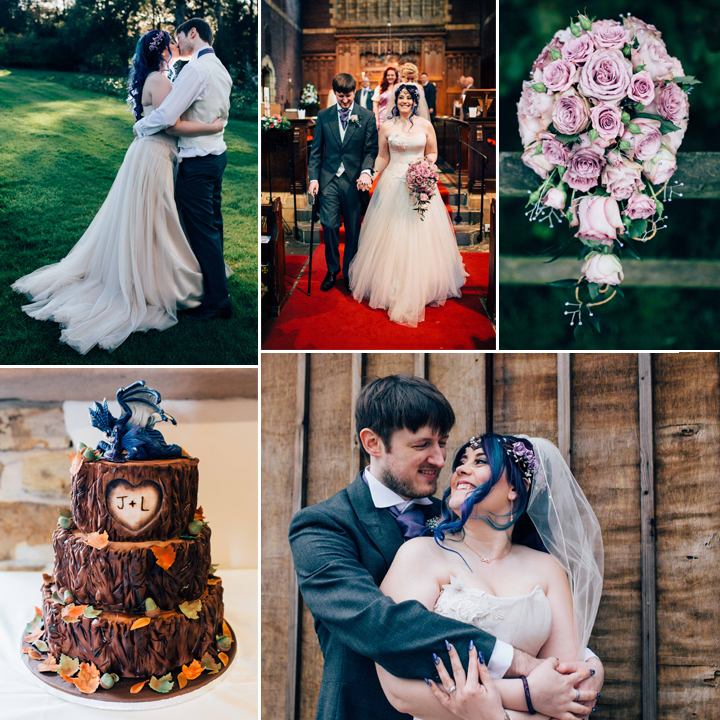 Laura & Jamie Perkins Wedding - Hyde Bank Farm, Cheshire