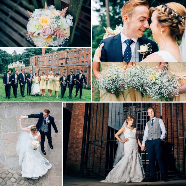 Sophie & Phil Pastel Wedding - Quarry Bank Mill, Styal