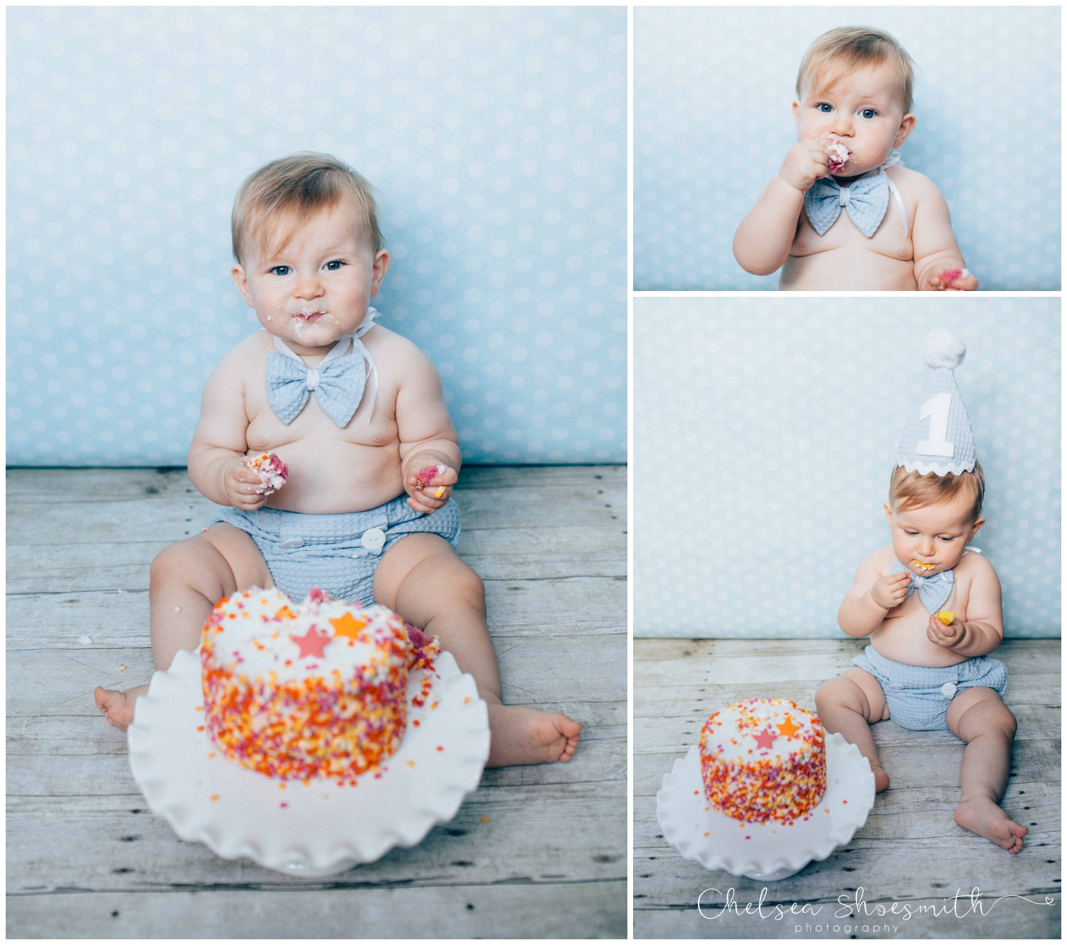 (12 of 32) Teddy Cake Smash Shoot Chelsea Shoesmith Photography_