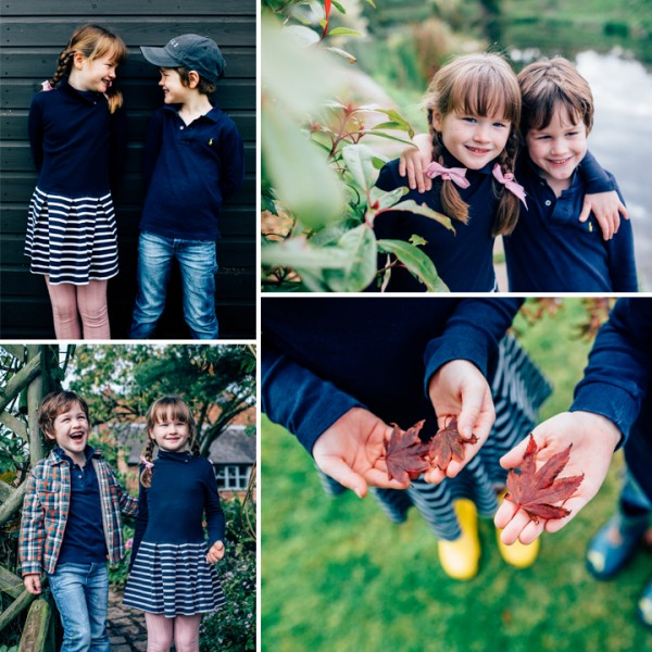 Billy & Annie, Autumn Family Portrait - High Legh, Cheshire