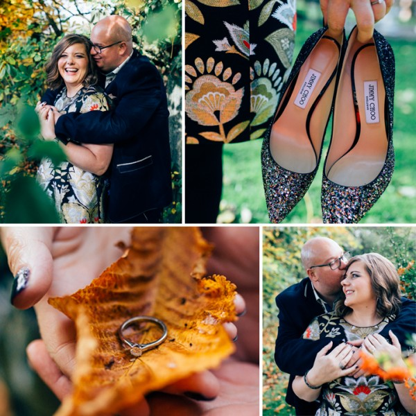 Claire & Martin Engagement Shoot  - Luciano's at The Millstone, Lancashire