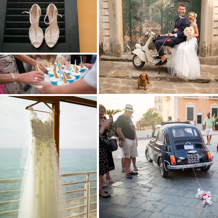 Jolanta & Alex Destination Wedding Photography - Santa Maria Di Castellabate, Italy