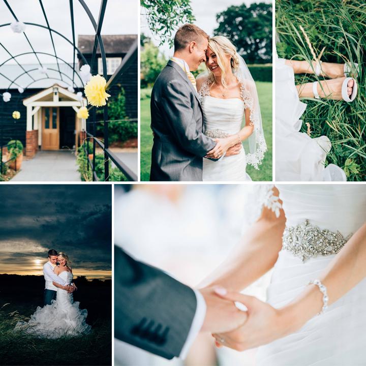 Lauren & Andy's yellow wedding, Milling Barn, Hertfordshire