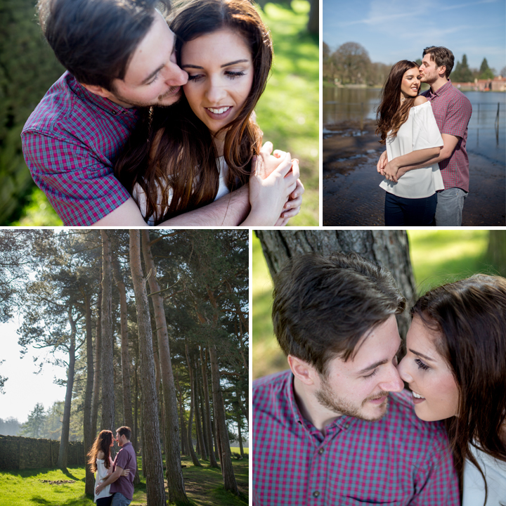 Charlotte & Kyle LymePark, Cheshire Engagement Photo Shoot