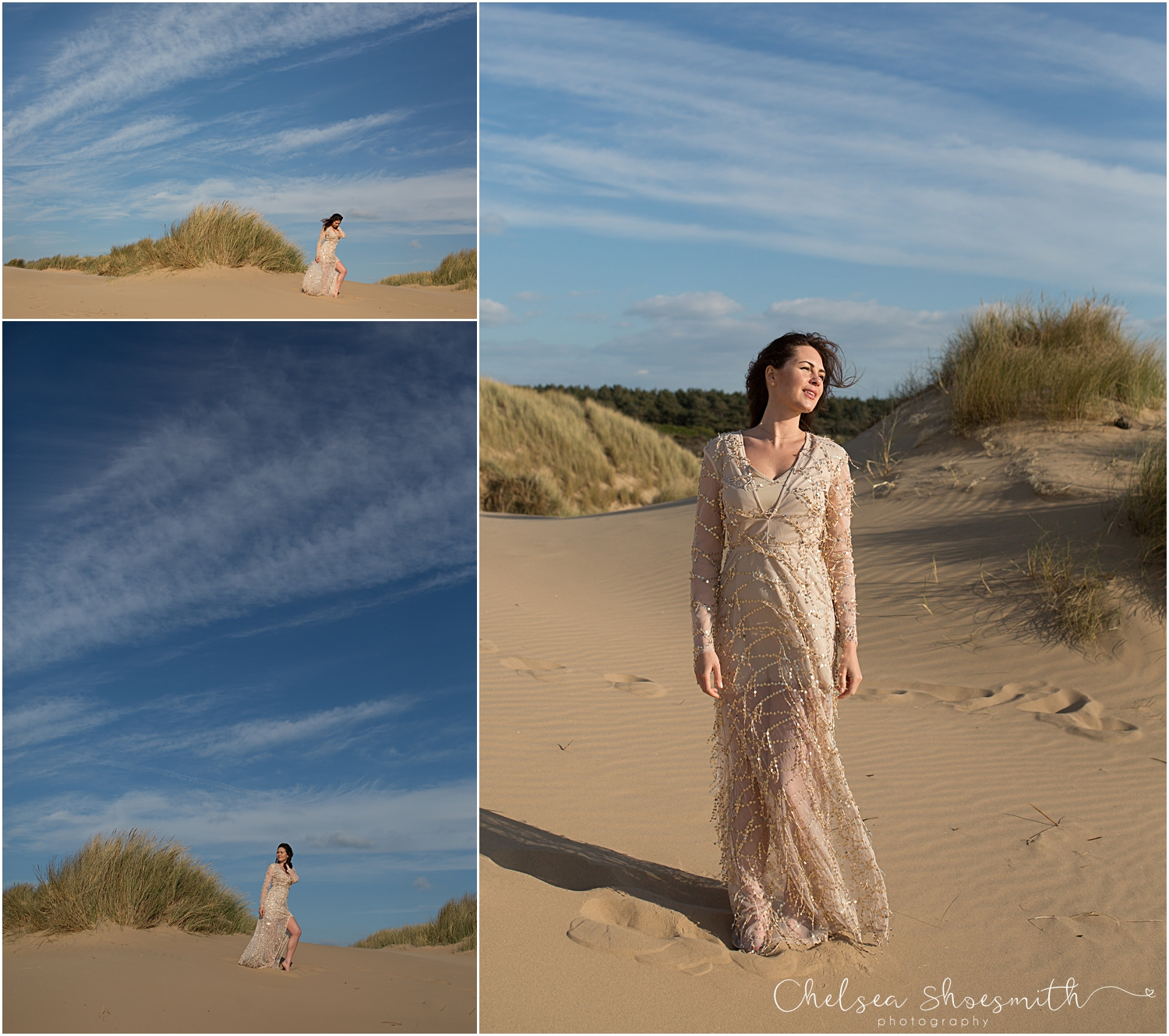 (23 of 46) Formby Styled Wedding Shoot Chelsea Shoesmith Photography_