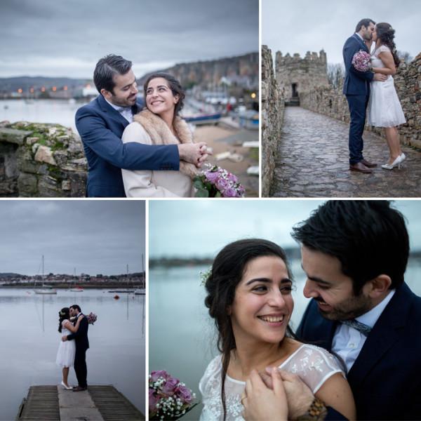 Zahara & Yashar Wedding -  Conwy, Wales