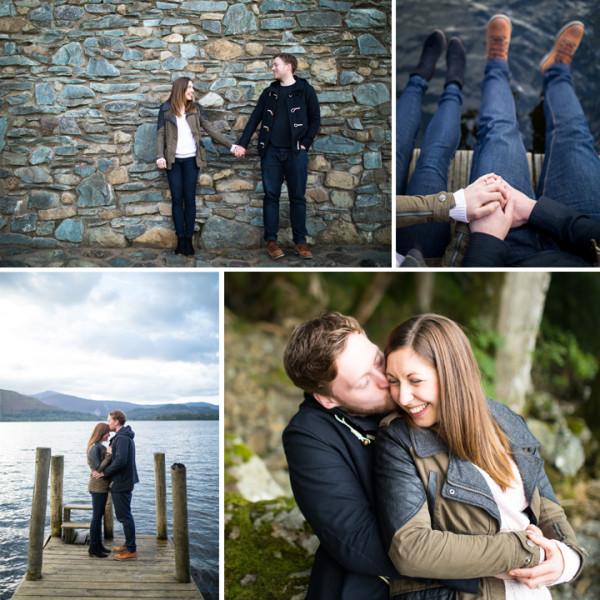 katie & Tom Engagement - Keswick, Lake District