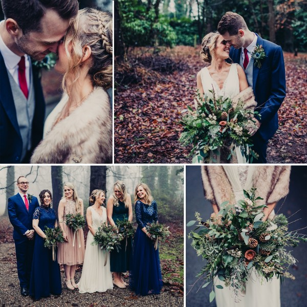 Suzanne & Bevan's winter wedding at Samlesbury Hall - Preston
