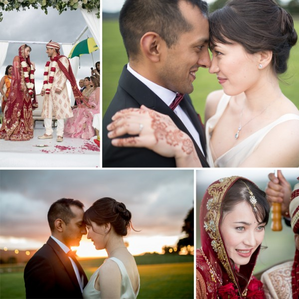 Beni & Neeraj's Japanese/Indian Outdoor Wedding At Heaton House Farm