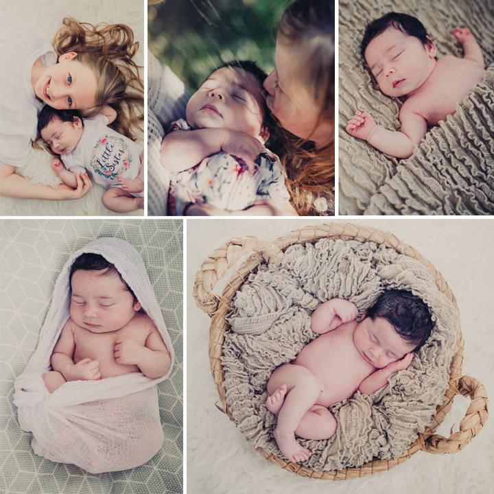 Georgia & Harriet, Newborn sibling shoot, Cheshire