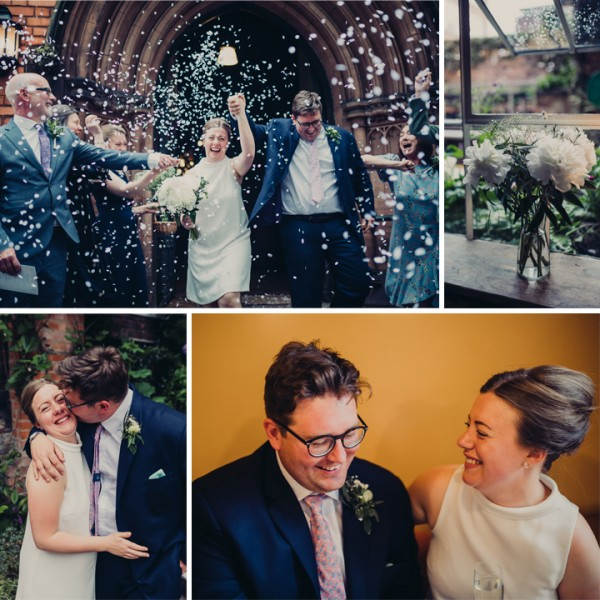 Rosie & Mike Wedding - The Pen Factory, Liverpool