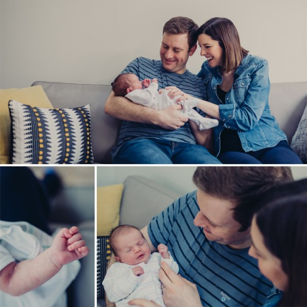 Fleur - Cheshire Lifestyle Newborn Photography