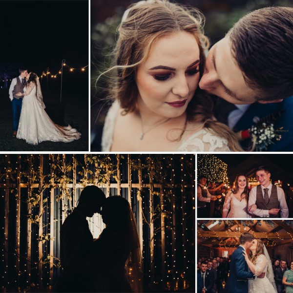 Jess & Sam's Winter Wedding at Heaton House Farm