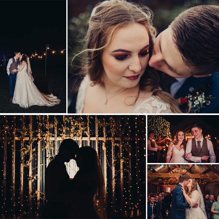Jess & Sam's Winter Wedding at Heaton House Farm