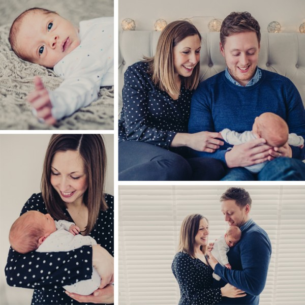 Henry - Cheshire Newborn Lifestyle Photography