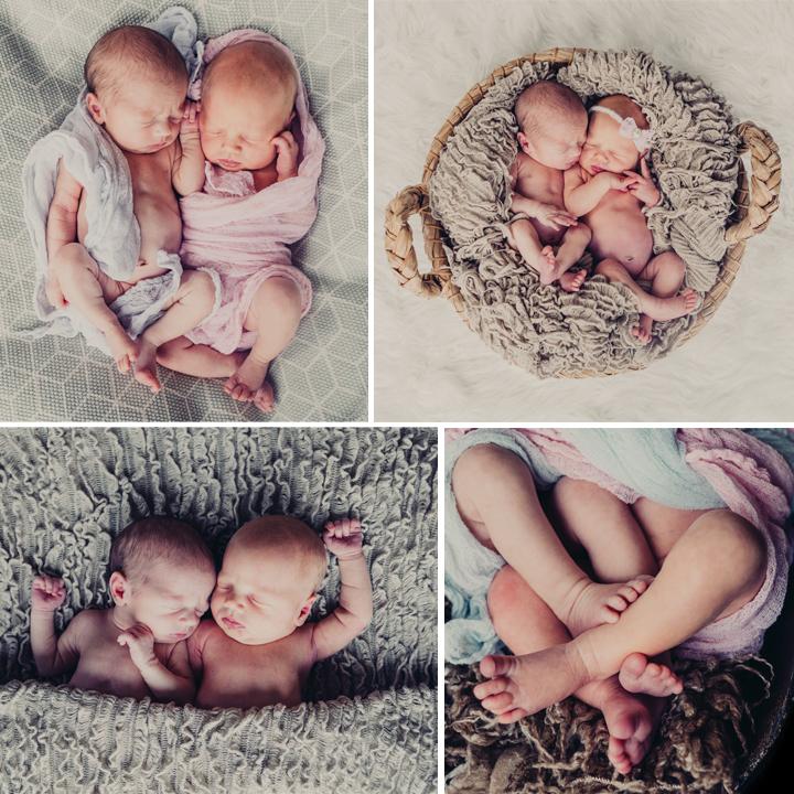 Charlotte & Alexender Newborn Twins - Cheshire Newborn Photography