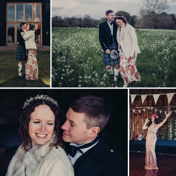 Kate & Iain - Suffolk Barn festival wedding