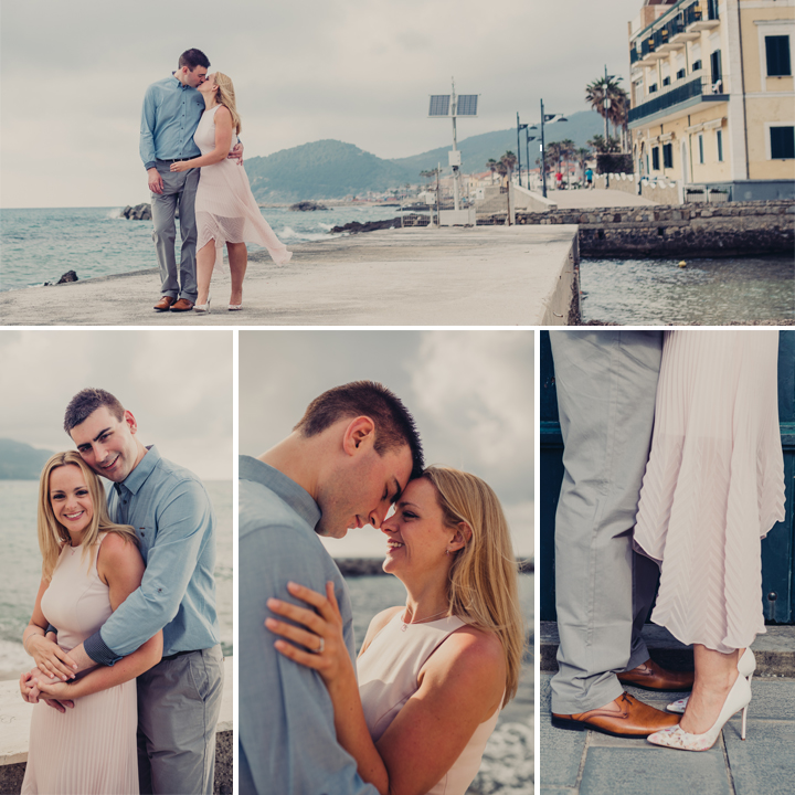 Amy & Christian Destination Engagement Shoot - Santa Maria, Castellabate, Italy