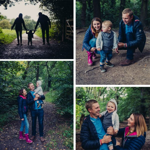 Outdoor Autumn Family Photo Shoot