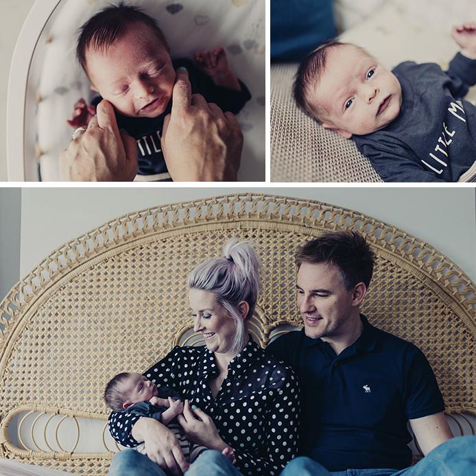 Cheshire Newborn photography - Rocco